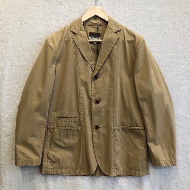 green label relaxing beige tailored jacket