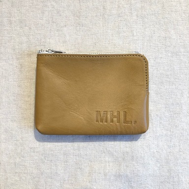 MHL. leather wallet